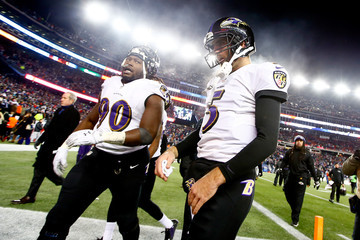 Pernell McPhee Divisional Playoffs - Baltimore Ravens v New England Patriots
