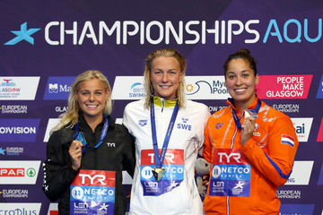 Pernille Blume Swimming - European Championships Glasgow 2018: Day Three