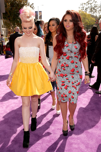 Jesy Nelson And Perrie Edwards Nickelodeon s 26th Annual