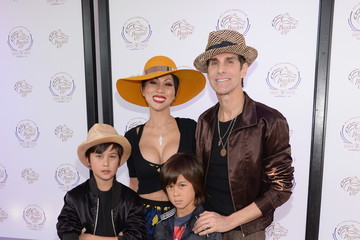 Photo of Perry Farrell & his  Son  Izzadore Bravo Farrell