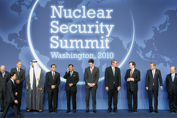 Sheikh Mohamed bin Zayed Al Nahyan Pesident Obama Hosts World Leaders At Nuclear Security Summit