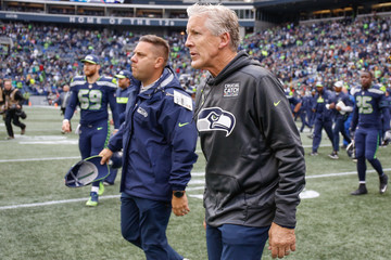 Pete Carroll Los Angeles Rams vs. Seattle Seahawks