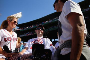 Pete Frates Washington Nationals v Boston Red Sox