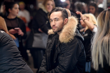 Pete Wentz Philipp Plein Fall/Winter 2017/2018 Women's And Men's Fashion Show - Backstage