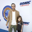 """Pete Wentz """"Sonic The Hedgehog"""" Family Day Event"""