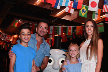 Peter Andre Junior Andre 'Thomas The Tank Engine' Premiere - Arrivals