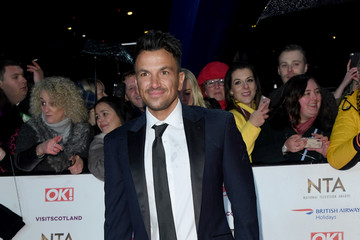 Peter Andre National Television Awards 2019 - Red Carpet Arrivals