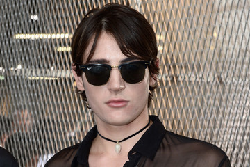 Peter Brant Celebrities Arrive at Givenchy During Paris Fashion Week