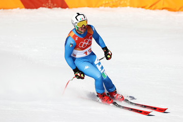 Peter Fill Alpine Skiing: Men's Downhill - Winter Olympics Day 6