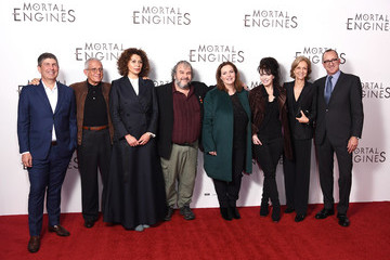 Peter Jackson Philippa Boyens World Premiere Of 'Mortal Engines'