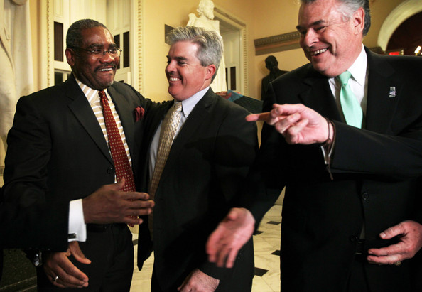 House Votes On $51 Billion Hurricane Sandy Aid Package [suit,event,formal wear,tuxedo,gesture,businessperson,white-collar worker,gregory meeks,peter king,steve bellone,votes,billion hurricane sandy aid package,l-r,ny,u.s.,house,sandy]