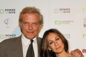 Peter Martins Arrivals at the Variety Power of Women Event