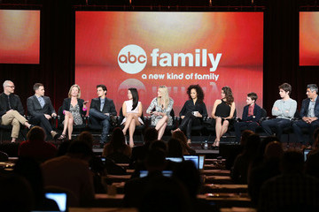 Peter Paige Maia Mitchell Winter TCA Tour: Day 7