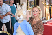 Kimberley Walsh attends the 'Where is Peter Rabbit?' press day at Theatre Royal Haymarket on July 23, 2019 in London, England.