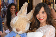 Myleene Klass attends the 'Where is Peter Rabbit?' press day at Theatre Royal Haymarket on July 23, 2019 in London, England.