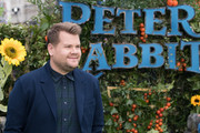 "James Corden attends the UK Gala Screening of ""Peter Rabbit"" at the Vue West End on March 11, 2018 in London, England."