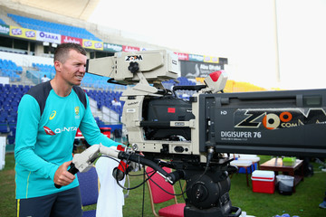 Peter Siddle Pakistan vs. Australia: 2nd Test - Day Two