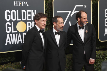 Peter Spears Marco Morabito 75th Annual Golden Globe Awards - Arrivals