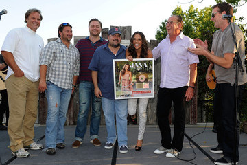 Peter Strickland Warner Music Nashville's Pickin' On The Patio - Jana Kramer In Concert