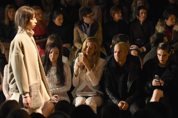 BCBGMAXAZRIA - Front Row - Mercedes-Benz Fashion Week Fall 2015 []