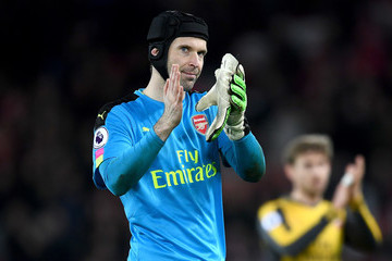Petr Cech Liverpool v Arsenal - Premier League