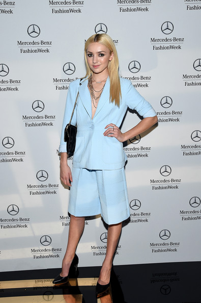Peyton List - Mercedes-Benz Fashion Week Spring 2015 - Official Coverage - People And Atmosphere Day 4