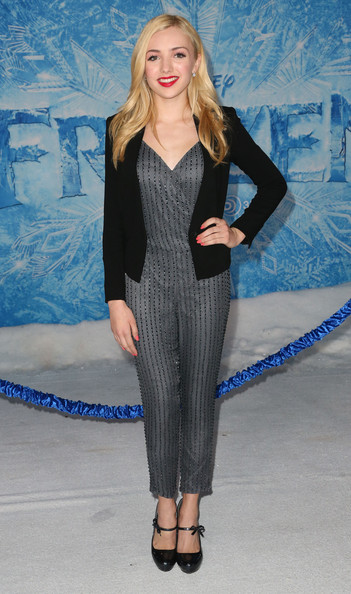 "Peyton List - Premiere Of Walt Disney Animation Studios' ""Frozen"" - Arrivals"