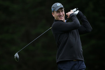 Peyton Manning AT&T Pebble Beach Pro-Am - Round One