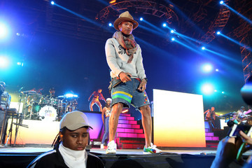 Pharrell Williams 2014 Coachella Valley Music and Arts Festival - Day 2