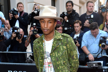 Pharrell Williams Arrivals at the GQ Men of the Year Awards