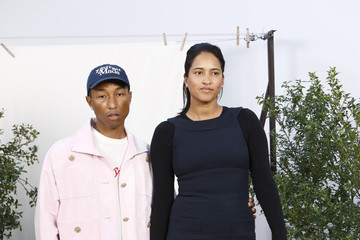 Pharrell Williams Helen Lasichanh Chanel - Photocall - Paris Fashion Week - Haute Couture Spring Summer 2020