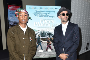 Pharrell Williams Premiere of Cohen Media Group's 'Faces Places' - Arrivals