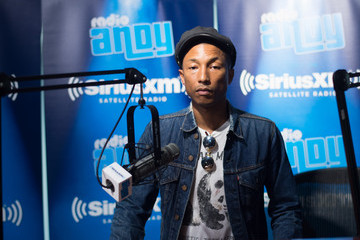 Pharrell Williams Pharrell Visits Bevy Smith's 'Bevelations' on Andy Cohen's SiriusXM Channel Radio Andy In The SiriusXM Studios