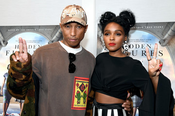 Pharrell Williams Screening And Q&A For 20th Century Fox's 'Hidden Figures' - Arrivals