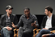 """Jeff Zimbalist, Mario Melchiot and Michael Zimbalist attend the screening of """"Phenoms: Goalkeepers"""" during the 2018 Tribeca Film Festival at SVA Theatre on April 25, 2018 in New York City."""