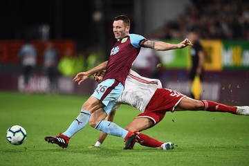 Phil Bardsley Burnley vs. Olympiakos - UEFA Europa League Qualifing Play-Off: Second Leg