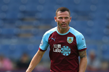 Phil Bardsley Burnley vs. Montpellier - Pre-Season Friendly