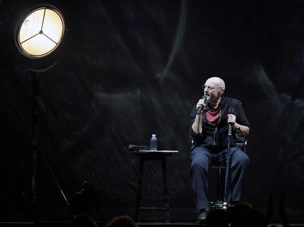 Phil Collins Performs In Concert At MGM Grand In Las Vegas