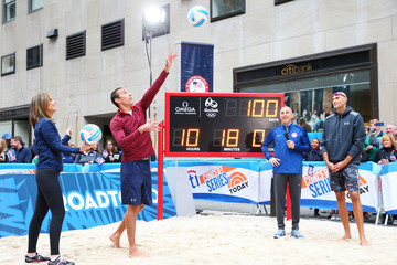 Phil Dalhausser Team USA at NBC's TODAY Show