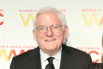 Phil Donahue Arrivals at the Women's Media Awards