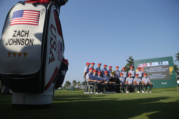 Phil Mickelson Jordan Spieth The Presidents Cup - Preview Day 2