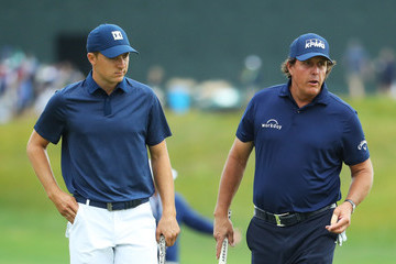 Phil Mickelson U.S. Open - Round Two
