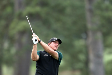 Phil Mickelson The Masters - Round One