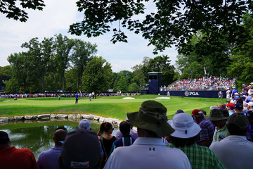 Phil Mickelson PGA Championship - Round One