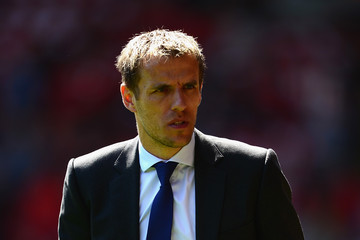 Phil Neville Liverpool v Everton - Premier League