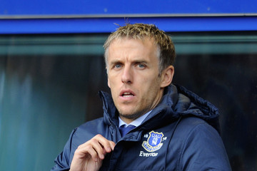 Phil Neville Everton v Queens Park Rangers - Premier League