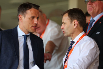 Phil Neville England Vs. Italy - UEFA European Under-17 Championship: Group Stage