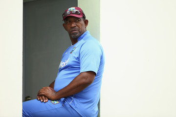 Phil Simmons Australia v West Indies: Day 3