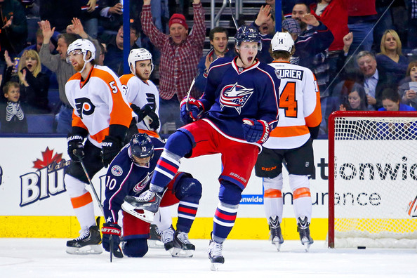 Ryan Johansen in Philadelphia Flyers v Columbus Blue Jackets - Zimbio