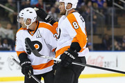 Mark Streit and Nicklas Grossmann Photos Photo